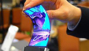 Telefonlar için esnek ekran üretimi yolunda bir adım daha atıldı