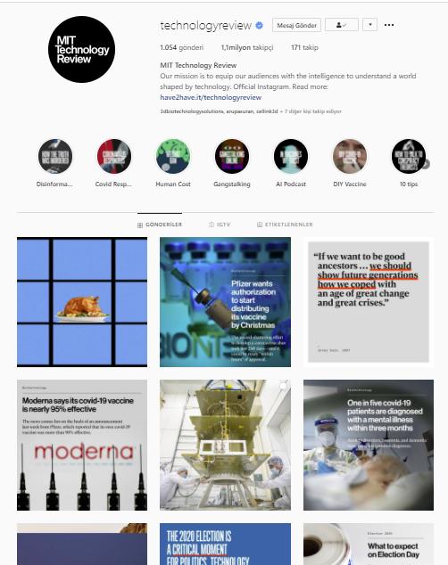 86 mit technology review engineering instagram mühendislik - BİR MÜHENDİSİN TAKİP EDEBİLECEĞİ İNSTAGRAM HESAPLARI