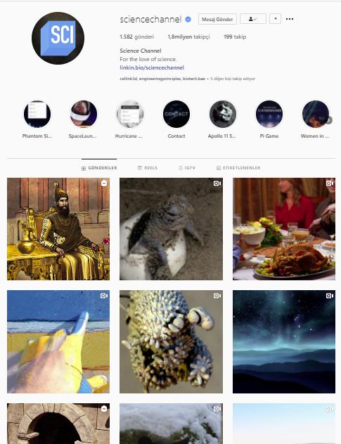 86 sciencechannel instagram mühendislik engineering - BİR MÜHENDİSİN TAKİP EDEBİLECEĞİ İNSTAGRAM HESAPLARI